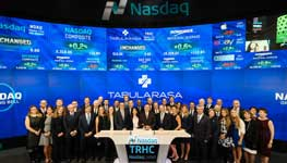 Rittenhouse Ventures Managing Partners Saul Richter and Bruce Luehrs at Tabula Rasa NASDAQ Listing